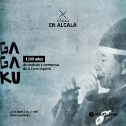GAGAKU: 1300 AÑOS DE TRADICIÓN Y CEREMONIAS DE LA CORTE IMPERIAL