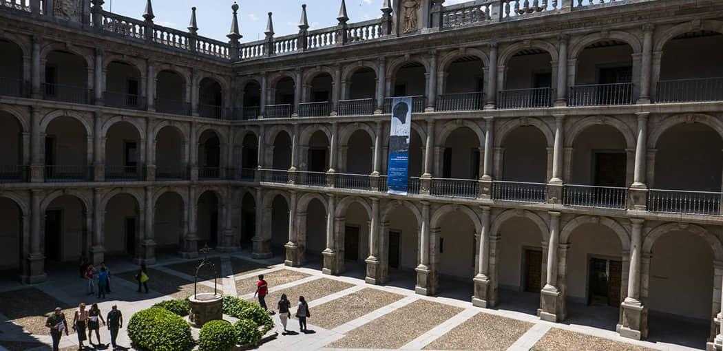 Patio de Santo Tomás de Villanueva (Univesidad Cisneriana)
