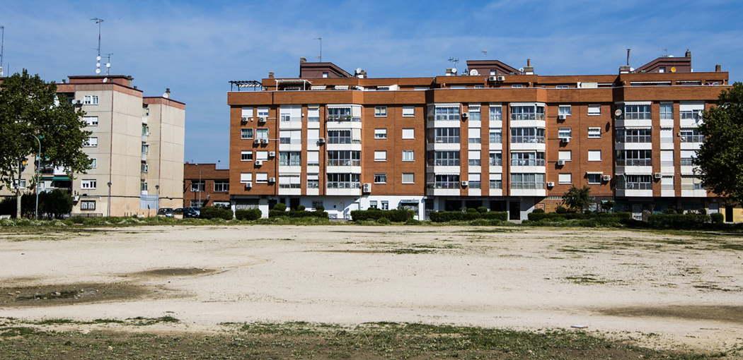 Campo de fútbol C.P. Juan de Austria Distrito V