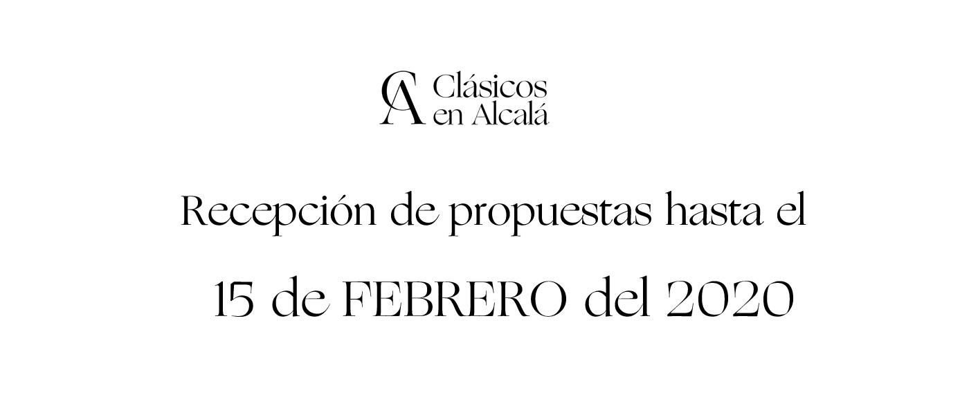Envía tu propuesta antes del 31 de enero del 2020
