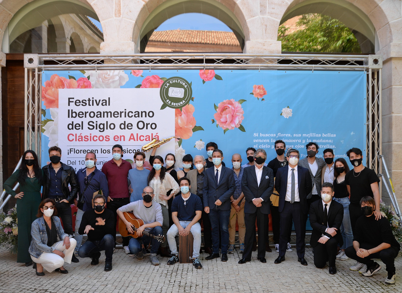 Presentada, en rueda de prensa, la programación del Festival Iberoamericano del Siglo de Oro de la Comunidad de Madrid. Clásicos en Alcalá