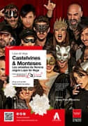 Castelvines & Monteses. Los amantes de Verona según Lope de Vega. Cartel.