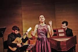 La Conjuración de Venecia. Un retrato de Quevedo. (Lucía Martín Cartón, soprano). Foto: Óscar Romero